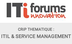 CRIP THEMATIQUE ITIFORUMS ITIL
