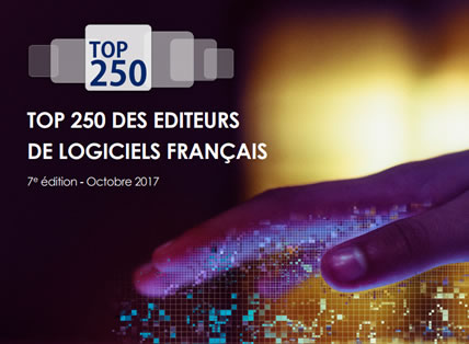 TOP 250 EDITEUR SYNTEC 2017 - ISILOG